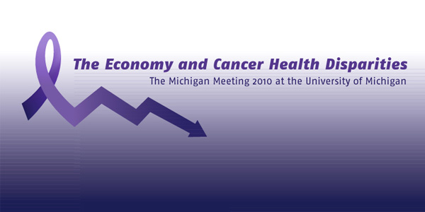 The Economy and Cancer Health Disparities Logo