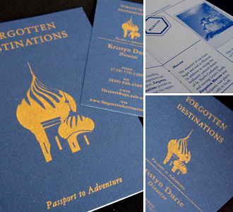 Forgotten Destinations Identity Package